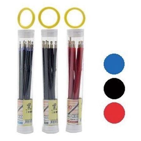 【芥菜籽文具】黑金鋼 KIN KON 101自動原子筆芯(0.7mm) 12支/筒
