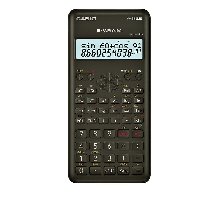 【芥菜籽文具】//CASIO 卡西歐//12位數 工程型計算機 第2代 FX-350MS II (新品上市)