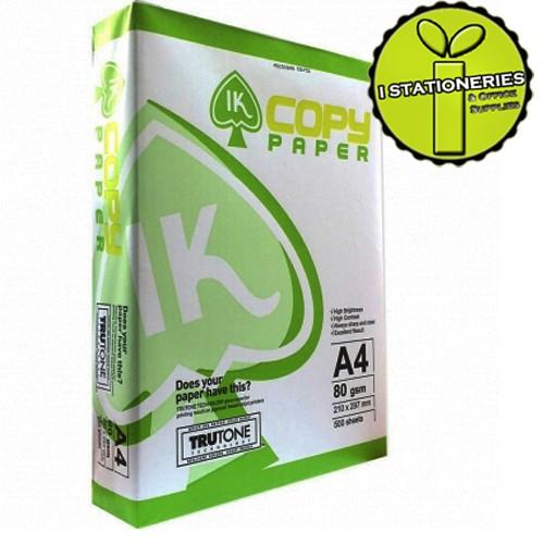 【芥菜籽文具】IK COPY A4 影印紙 80磅 (50包大特價)