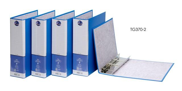 【芥菜籽文具】//同春牌//  環保PP合成紙2孔管夾  TG370-2 大型2孔 (12個/箱)