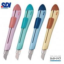 【芥菜籽文具】//SDI 手牌文具 // NO.0437C PRAG側向美形刀、美工刀 4711734043701