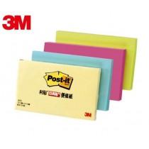 【芥菜籽文具】//3M POST-IT// 可再貼便條紙 #655 (全系列) 75×127mm