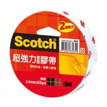【芥菜籽文具】3M SCOTCH // 669 超強力雙面膠帶系列 24MM×5Y (單捲包) 4710367832874