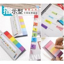 【芥菜籽文具】//鶴屋//指示型可再貼標籤紙(N次貼)系列