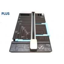 【芥菜籽文具】//PLUS 普樂士//三用裁紙機 (直線/虛線/折線) PK-813(26-470) 可裁A3規格