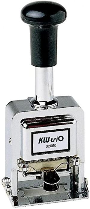 【芥菜籽文具】//欣美勝//KW-TRIO系列// 02060   自動跳號號碼機 (6位數)