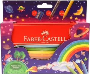 【芥菜籽文具】//FABER-CASTELL 輝柏// 色鉛筆彩虹拉鍊包 115819