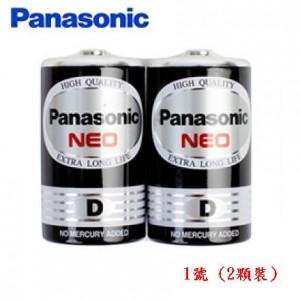 【芥菜籽文具】//Panasonic 國際牌//國際電池 黑猛電池 碳鋅電池--1號  (2顆裝)