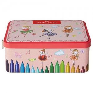 【芥菜籽文具】//FABER-CASTELL 輝柏// 音樂盒造型連接筆 25色 155095