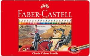 【芥菜籽文具】//Faber-Castell 輝柏//油性鐵盒色鉛筆 36色 115846