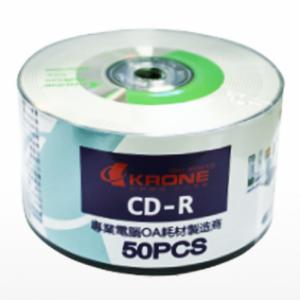 【芥菜籽文具】//KAONE 立光科技//KRONE 光碟片CD-R 52X (50片)