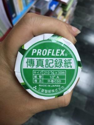【芥菜籽文具】MISHIMA 傳真紙、感熱紙 210mmX30M (足30米) 12支/箱