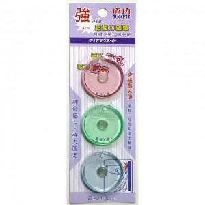 【芥菜籽文具】//成功體育文具 // 磁鐵類//4公分超強力磁鐵(3入) 2143