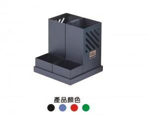 【芥菜籽文具】//徠福LIFE//鐵製多用途筆筒NO.2336(兩用)