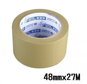 【芥菜籽文具】//四維鹿頭牌 // PVC可撕式封箱膠帶 48mm*27M (6捲/片)
