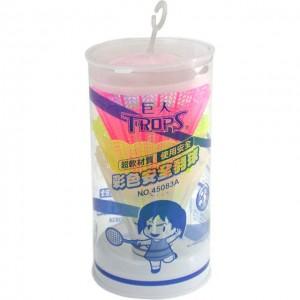 【芥菜籽文具】//成功體育文具 // 球類用品 //彩色安全羽球(3入) 45083A