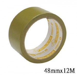 【芥菜籽文具】//四維鹿頭牌 // PVC可撕式封箱膠帶 48mm*12M (單捲)
