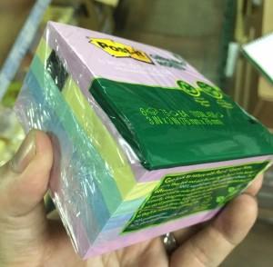 【芥菜籽文具】3M POST-IT 狠黏利貼便條紙五色組合包 #5416-RP-AP