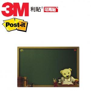 【芥菜籽文具】//3M POST-IT// 可在貼利貼備忘版 558L -B(泰迪熊)  250X380MM  4710367880233