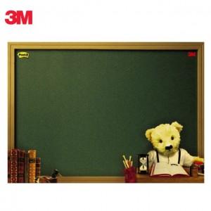 【芥菜籽文具】//3M POST-IT// 可在貼利貼備忘版 558M -B(泰迪熊)  180X250MM  4710367880325