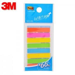 【芥菜籽文具】//3M POST-IT //  非抽取式標籤 583-8S (8色 / 包) 4710367836438