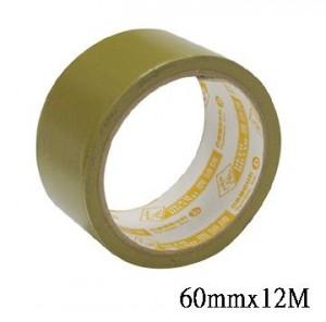 【芥菜籽文具】//四維鹿頭牌 // PVC可撕式封箱膠帶 60mm*12M (6捲/片)