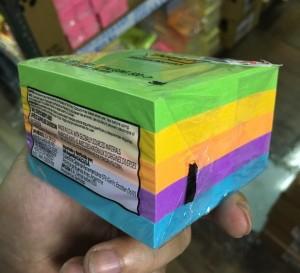 【芥菜籽文具】3M POST-IT 狠黏利貼便條紙五色組合包 #654-5GU