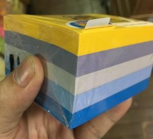 【芥菜籽文具】3M POST-IT 狠黏利貼便條紙五色組合包 #654-5SSNY
