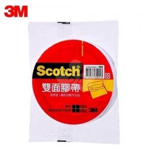 【芥菜籽文具】3M SCOTCH // 668 雙面膠帶系列 18MM×15Y (16捲/盒) 4710367604020