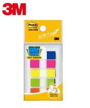 【芥菜籽文具】3M POST-IT 超厚材質耐用標籤系列 686-3  12x43mm 471036781702