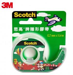 【芥菜籽文具】3M SCOTCH //  隱形膠帶台系列 #104TW (12mm)  0021200010224