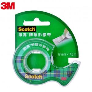 【芥菜籽文具】3M SCOTCH //  隱形膠帶台系列 #105TW (19mm)  0051131645417