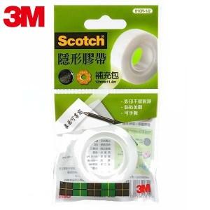 【芥菜籽文具】3M SCOTCH // 810 隱形膠帶系列補充包 810R-1/2 (1捲 / 包) 4710367835462