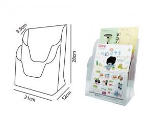 【芥菜籽文具】//台灣聯合文具 WIP //A4桌上型目錄架(雙層) T2306 (24個/箱)