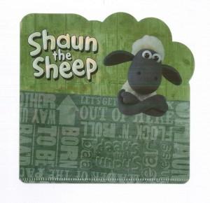 【芥菜籽文具】笑笑羊(小)彩色姓名貼紙  ~~附贈迷你文件夾~~ 姓名貼