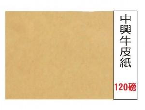 【芥菜籽文具】全開牛皮紙 中興牛皮紙 牛皮紙 120磅
