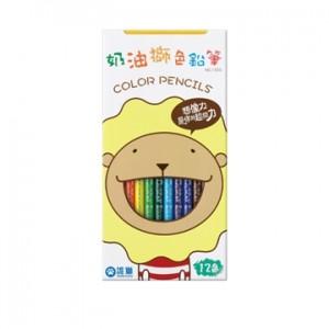 【芥菜籽文具】//雄獅// 雄獅長支色筆12色(紙盒)