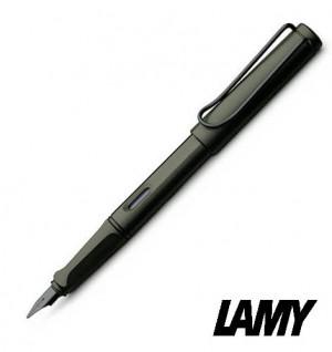【芥菜籽文具】// 德國 LAMY // SAFARI 狩獵者系列鋼筆 #17 霧黑  德國原裝