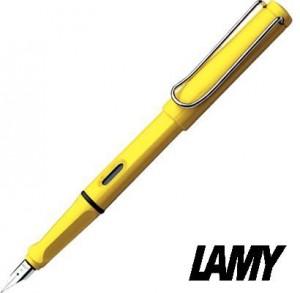 【芥菜籽文具】// 德國 LAMY // SAFARI 狩獵者系列鋼筆 #18 黃  德國原裝