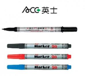 【芥菜籽文具】//新東文具-ACE英士// 英士油性速乾筆 NO.20 (單支)