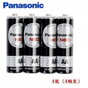 【芥菜籽文具】//Panasonic 國際牌//國際電池 黑猛電池 碳鋅電池--4號  (4顆裝)