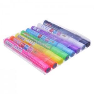 【芥菜籽文具】//CKS 喜克斯// 擦擦筆 螢光彩繪筆  CH-2081 (8色組) 圓頭