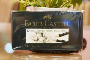 【芥菜籽文具】//FABER-CASTELL 輝柏// 9000 藝術家繪圖素描鉛筆 (12入) 2H~8B