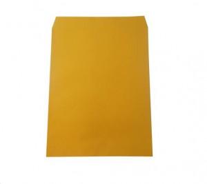 【芥菜籽文具】黃牛皮公文封 小4K (無框)33.5*26.3cm (100入)