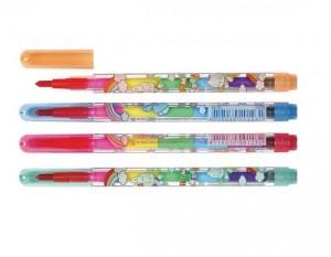 【芥菜籽文具】彩虹筆、卡榫彩虹筆(單支裝)