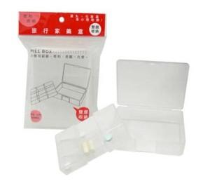 【芥菜籽文具】//台灣聯合文具 WIP //旅行家藥盒(雙層)WN096 4718055000963