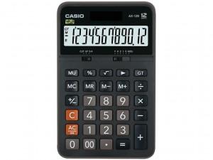 【芥菜籽文具】//CASIO 卡西歐// AX-12B /12 位數 /太陽能、電池雙電源設計/四則運算