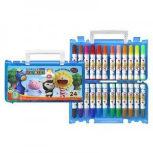 【芥菜籽文具】//雄獅// BLM-24B奶油獅24色彩色筆(B盒)-閃亮亮