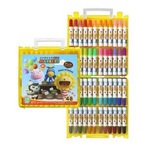 【芥菜籽文具】//雄獅// BLM-48B 奶油獅48色彩色筆(B盒)-閃亮亮