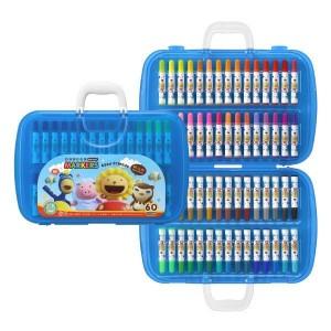 【芥菜籽文具】//雄獅// BLM-60B 奶油獅60色彩色筆(A盒)-閃亮亮版